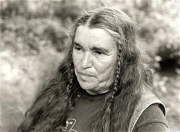 Bernadette Mayer, 2008.  Poet.