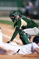 February 20, 2009:  Catcher Trey Manz (5) of the University of South Florida during the Big East-Big Ten Challenge at Jack Russell Stadium in Clearwater, FL.  Photo by:  Mike Janes/Four Seam Images