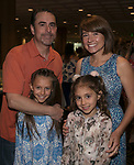 The Alonso family during the Nevada Humane Society's 3rd  annual Heels & Hounds event at the Atlantis Resort and Spa in Reno on April 9, 2017.