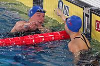 Sarah Sjostrom ENERGY STANDARD Winner Women's 100m freestyle<br /> Napoli 13-10-2019 Piscina Felice Scandone <br /> ISL International Swimming League <br /> Photo Cesare Purini/Deepbluemedia/Insidefoto