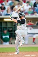 Kane County second baseman Larry Cobb (2) at bat versus Dayton at Fifth Third Field in Dayton, OH, Monday, May 7, 2007.