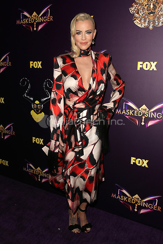 WEST HOLLYWOOD, CA - DECEMBER 13: Jenny McCarthy at The Masked Singer Premiere at The Peppermint Club in West Hollywood, California on December 13, 2018. Credit: Faye Sadou/MediaPunch