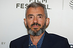 Producer Daniel Battsek arrives at the U.S. premiere of the movie Disobedience, on April 22 2018, during the Tribeca Film Festival in New York City.
