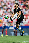 Clement Nicolas Laurent Lenglet of Sevilla FC in action during the La Liga 2017-18 match between Atletico de Madrid and Sevilla FC at the Wanda Metropolitano on 23 September 2017 in Madrid, Spain. Photo by Diego Gonzalez / Power Sport Images