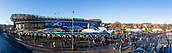 2nd February 2019, Murrayfield Stadium, Edinburgh, Scotland; Guinness Six Nations Rugby Championship, Scotland versus Italy; The fans start to arrive at Murrayfield