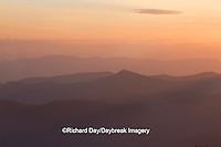 66745-04417 Sunset at Clingman's Dome, Great Smoky Mountains National Park, TN
