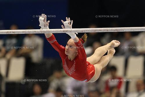 Anna Dementyeva (RUS), ..OCTOBER 8, 2011 - Artistic Gymnastics : ..2011 World Artistic Gymnastics Championships ..Women's Qualification ..at Tokyo Metropolitan Gymnasium, Tokyo, Japan. ..(Photo by YUTAKA/AFLO SPORT) [1040]