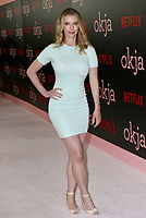 www.acepixs.com<br /> <br /> June 8 2017, New York City<br /> <br /> Betty Gilpin arriving at the premiere of 'Okja' hosted by Netflix at the AMC Lincoln Square Theater on June 8, 2017 in New York City.<br /> <br /> By Line: Nancy Rivera/ACE Pictures<br /> <br /> <br /> ACE Pictures Inc<br /> Tel: 6467670430<br /> Email: info@acepixs.com<br /> www.acepixs.com