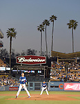 Kenta Maeda (Dodgers),<br /> APRIL 1, 2016 - MLB :<br /> Pitcher Kenta Maeda of the Los Angeles Dodgers during a spring training baseball game against the Los Angeles Angels at Dodger Stadium in Los Angeles, California, United States. (Photo by AFLO)