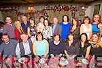 Ed Nealy, Darry Femling, Helen Gearin, Marta O'Donnell, Susan Donovan, Karen Sinden, Marie O'Sullivan, Fintan Ryan, Aina Behan, Jenning Newman, Maurice O'Donohue, Noreen Kelly, Suzanne Ennis,Mike Lynch, Karen Delaney, Aisling O'Connor, Phylis Healy, Eimear  O'Connor enjoying a Tralee Credit Union staff night out at Cassidys