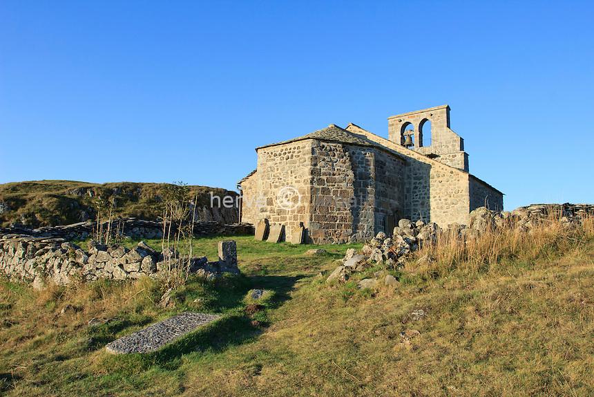 France, Cantal (15), Chastel-sur-Murat, la chapelle Saint-Antoine // France, Cantal, Chastel sur Murat, the chapel St Antoine