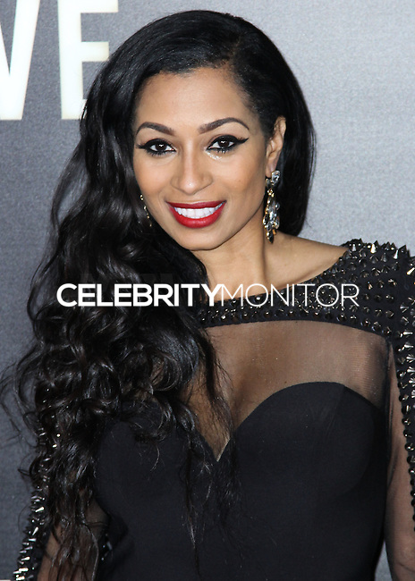 NEW YORK CITY, NY, USA - DECEMBER 03: Karlie Redd arrives at the New York Premiere Of 'Top Five' held at the Ziegfeld Theatre on December 3, 2014 in New York City, New York, United States. (Photo by Celebrity Monitor)