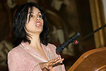 Pix: Shaun Flannery/sf-pictures.com....COPYRIGHT PICTURE>>SHAUN FLANNERY>01302-570814>>07778315553>>..9th May 2008.............Launch of Doncaster's new Housing Strategy at The Mansion House..Caroline Flint MP, Minister for Housing.