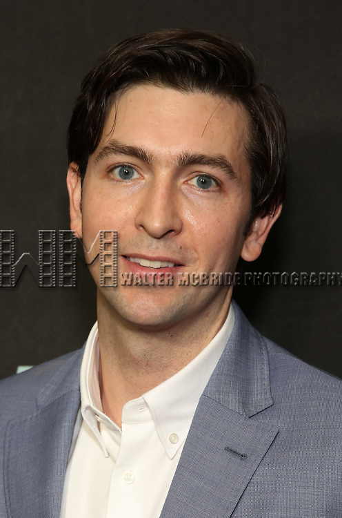 """Nicholas Braun attends the Broadway Opening Night performance of """"Sea Wall / A Life"""" at the Hudson Theatre on August 08, 2019 in New York City."""
