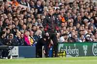 Bournemouth manager Eddie Howe during the Premier League match between Tottenham Hotspur and Bournemouth at White Hart Lane, London, England on 15 April 2017. Photo by Mark  Hawkins / PRiME Media Images.
