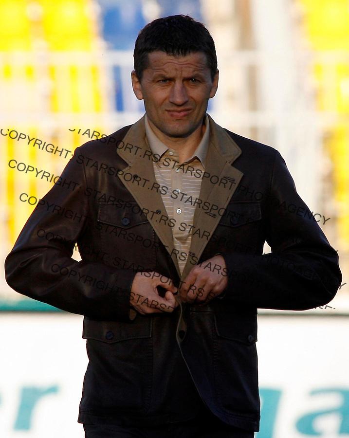 Fudbal, Super league, play off, season 2006/07.Partizan Vs. Bezanija.Miroslav Djukic.Beograd, 14.04.2007..foto: Srdjan Stevanovic