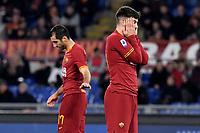 Henrikh Mkhitaryan of AS Roma , Carles Perez of AS Roma <br /> Roma 23/02/2020 Stadio Olimpico <br /> Football Serie A 2019/2020 <br /> AS Roma - Lecce<br /> Photo Andrea Staccioli / Insidefoto