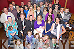 Celebrations - Thomas Lyne & Niamh Greensmith from Ardfert, seated centre having a wonderful time with friends and family at the Christening celebrations for their son Sean Darren held in McElligot's Bar following the ceremony in St. Brendan's Church, Ardfert on Sunday.