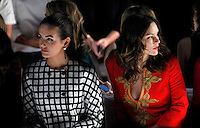 Camilla Belle (L) and Actress Katharine McPhee attend the Michael Kors show Collection Spring 2013 Mercedes-Benz Fashion Week Show at The Lincoln Center in New York, United States. 12/09/2012. Photo by Kena Betancur/VIEWpress.