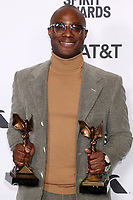 LOS ANGELES - FEB 23:  Barry Jenkins at the 2019 Film Independent Spirit Awards on the Beach on February 23, 2019 in Santa Monica, CA