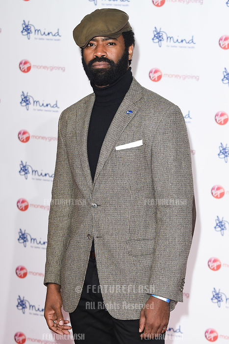 Nicholas Pinnock at the Virgin Money Giving Mind Media Awards at the Odeon Leicester Square, London, UK. <br /> 13 November  2017<br /> Picture: Steve Vas/Featureflash/SilverHub 0208 004 5359 sales@silverhubmedia.com