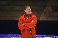 SCHAATSEN: HEERENVEEN: IJsstadion Thialf, 31-10-2012, Perspresentatie Team Corendon, Peter Kolder (trainer/coach), ©foto Martin de Jong