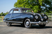 BNPS.co.uk (01202 558833)<br /> Pic: SilverstoneAuctions/BNPS<br /> <br />  1952 Austin A90 Atlantic Sports Saloon<br /> <br /> A quirky collection of rare and unusual cars is set to go under the hammer for more than £300,000.<br /> <br /> The group of 16 classic motors range from hand-built replica racing cars to barely used family saloons.<br /> <br /> They are currently owned by an esteemed British collector but have now been consigned to sale with Silverstone Auctions of Ashorne, Warwicks.