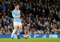 Manchester City's Aymeric Laporte<br /> <br /> Photographer Rich Linley/CameraSport<br /> <br /> UEFA Champions League Round of 16 Second Leg - Manchester City v FC Schalke 04 - Tuesday 12th March 2019 - The Etihad - Manchester<br />  <br /> World Copyright © 2018 CameraSport. All rights reserved. 43 Linden Ave. Countesthorpe. Leicester. England. LE8 5PG - Tel: +44 (0) 116 277 4147 - admin@camerasport.com - www.camerasport.com