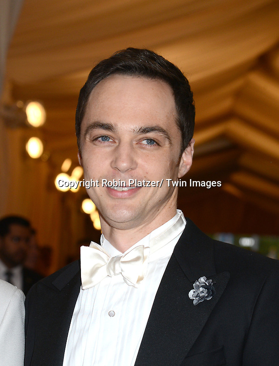 Jim Parsons attends the Costume Institute Benefit on May 5, 2014 at the Metropolitan Museum of Art in New York City, NY, USA. The gala celebrated the opening of Charles James: Beyond Fashion and the new Anna Wintour Costume Center.