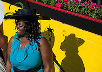 Scenes from Black-Eyed Susan Day at Pimlico Race Course in Baltimore, Maryland on May 18, 2012.