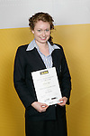 Gymnastics Aerobics Girls Winner - Jennifer Ayers. ASB College Sport Young Sportsperson of the Year Awards 2006, held at Eden Park on Thursday 16th of November 2006.<br />