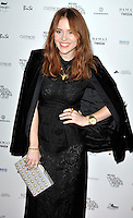 Angela Scanlon attends the WGSN Global Fashion Awards at the Victoria & Albert Museum on October 30, 2013 in London, England