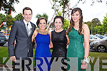 Having a wonderful time at the Causeway Comprehensive School Debs at the Brandon Hotel on Thursday were l-r  Jack Healy, Anita Leen, Teresa Leen, Niamh Leen