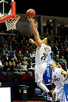 GRONINGEN - Basketbal, Donar - Landstede Zwolle , Martiniplaza,  halve finale beker, seizoen 2017-2018, 13-02-2018,  Donar speler Brandyn Curry scoort