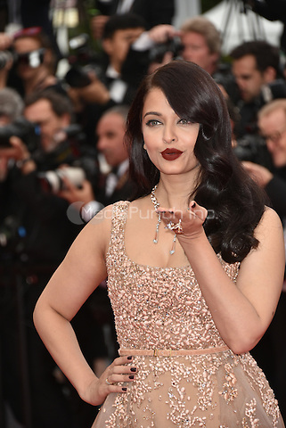 Aishwarya Rai Bachchan at 'The BFG' screening at the 69th International Cannes Film Festival, France May 14, 2016<br /> CAP/PL<br /> &copy;Phil Loftus/Capital Pictures / MediaPunch *** North American &amp; South American Rights Only***