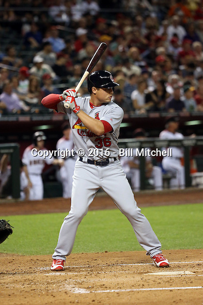 Aledmys Diaz - 2016 St. Louis Cardinals (Bill Mitchell)