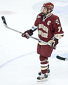 Peter Harrold - The Boston College Eagles defeated the Miami University Redhawks 5-0 in their Northeast Regional Semi-Final matchup on Friday, March 24, 2006, at the DCU Center in Worcester, MA.