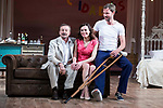 "Juan Diego, Begoña Maestre and Eloy Azorin during theater play of ""Una gata sobre un tejado de Cinc caliente"" at Reina Victoria theater in Madrid, Spain. March 15, 2017. (ALTERPHOTOS/BorjaB.Hojas)"