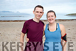 Pictured at the Brandon Bay Half Marathon and 10k on Saturday were Gavin Daly and Hannah McCarthy (Headford)