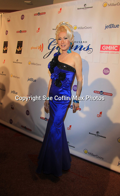 Coco LaChilne and many more attend The 27th Annual Night of a Thousand Gowns on April 6, 2013 at The Hilton New York, NYC, NY. Attending: and many more. (Photo by Sue Coflin/Max Photos)