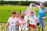 Susan, Seamus, Katie and Charlie Foley and Pat Costello, all from Killorglin getting some extra colour and enjoying the colour run in Killarney on Sunday.