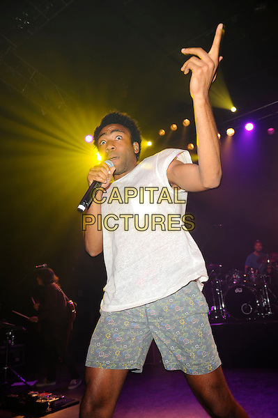 LONDON, ENGLAND - February 4: Childish Gambino(Donald Glover) performs in concert at the o2 Shepherd's Bush Empire on February 4, 2014 in London, England<br /> CAP/MAR<br /> &copy; Martin Harris/Capital Pictures