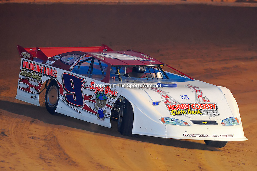 Jan 28, 2010; 6:14:53 PM; Waynesville, GA., USA; The Southern All Stars Racing Series running The Super Bowl of Racing VI at Golden Isles Speedway.  Mandatory Credit: (thesportswire.net)