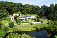 BNPS.co.uk (01202 558833)<br /> Pic: BNPS<br /> <br /> A charming country house in the heart of idyllic 'Constable Country' has emerged on to the market for £1.65million.<br /> <br /> Broome Hill is in the Dedman Vale Area of Natural Beauty (AONB) in Suffolk, where the painter John Constable (1776-1837) was born.<br /> <br /> This rural landscape was where he painted many of his most celebrated works, including Dedham Vale and The Hay Wain.<br /> <br /> The four bedroom home, which was built in 1998 in the style of 'an 19th century orangery', has five acres of land and its own fish pond.<br /> <br /> It is being sold with estate agent Chapman Stickels.