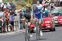 during the stage of La Vuelta 2012 beetwen Penafiel-La Lastrilla.September 7,2012. (ALTERPHOTOS/Acero) /NortePhoto.com<br /> <br /> **CREDITO*OBLIGATORIO** *No*Venta*A*Terceros*<br /> *No*Sale*So*third* ***No*Se*Permite*Hacer Archivo***No*Sale*So*third