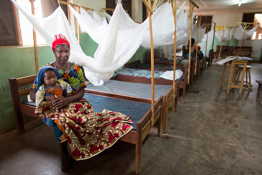 Patients in ward at MSF hospital in Central African Republic