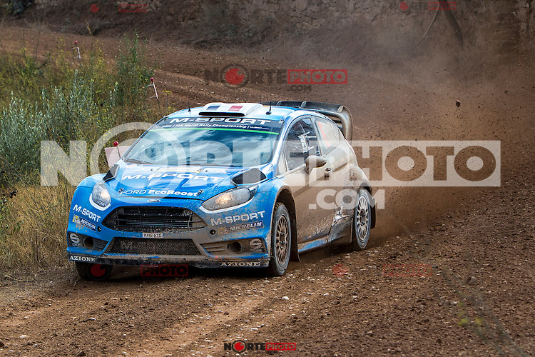 Mads Østberg/Ola Fløene (Ford Fiesta RS WRC) during the World Rally Car RACC Catalunya Costa Dourada 2016 / Rally Spain, in Catalunya, Spain. October 15, 2016. (ALTERPHOTOS/Rodrigo Jimenez) NORTEPHOTO.COM