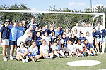 11 November 2007: ACC Champion North Carolina Women's Soccer players, coaches, and staff. The University of North Carolina defeated Florida State University 1-0 at the Disney Wide World of Sports complex in Orlando, FL in the Atlantic Coast Conference Women's Soccer tournament final.