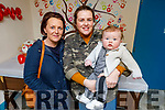 Baby Aodhán McKenna with Grainne Galway and Amanda Reidy at the Valentine's Coffee Morning in aid of Palliative Care Unit at UHK in the Ardfert Community Centre on Friday.