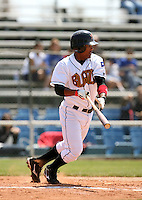 Marcus Lemon / Bakersfield Blaze..Photo by:  Bill Mitchell/Four Seam Images